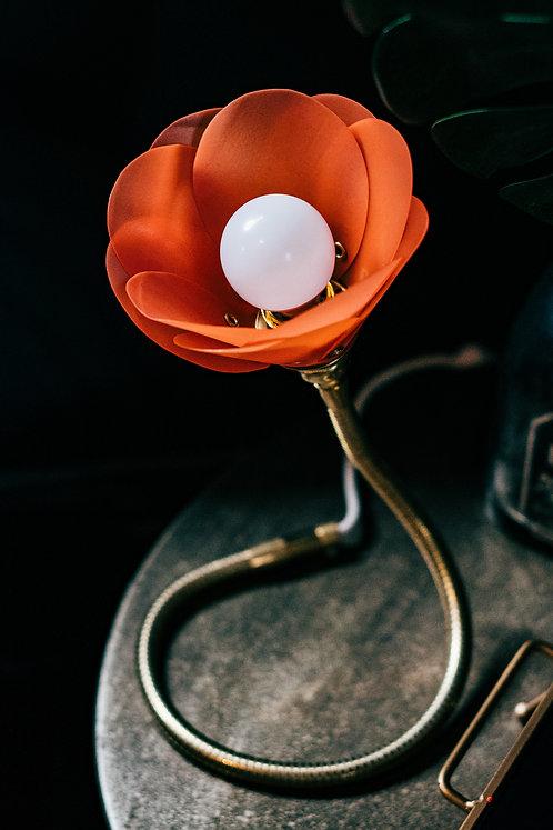 Orange Petal Lamp