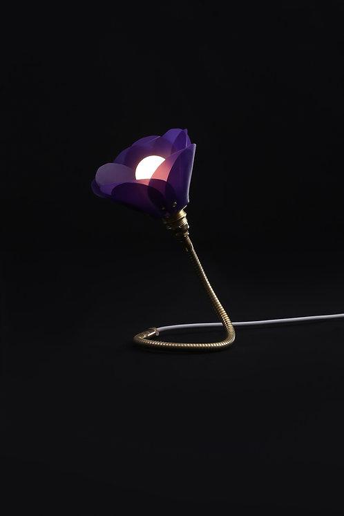 Purple Petal Lamp