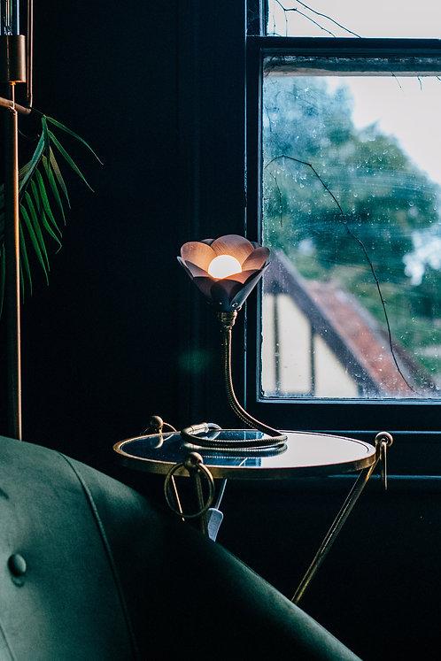 Navy Petal Lamp