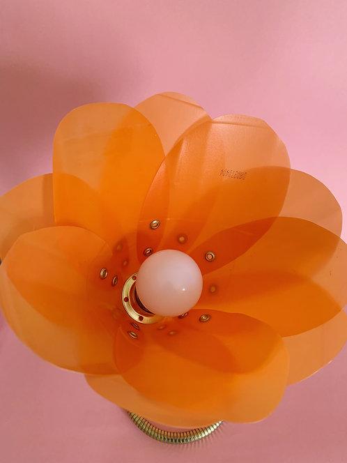Large Tangerine Orange Lamp
