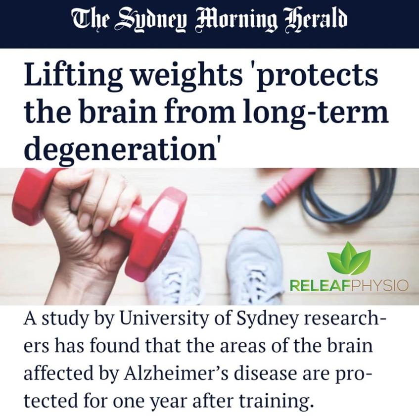 Weight training and Brain Health