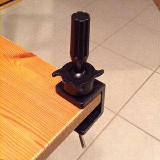 Manikin Table Clamp