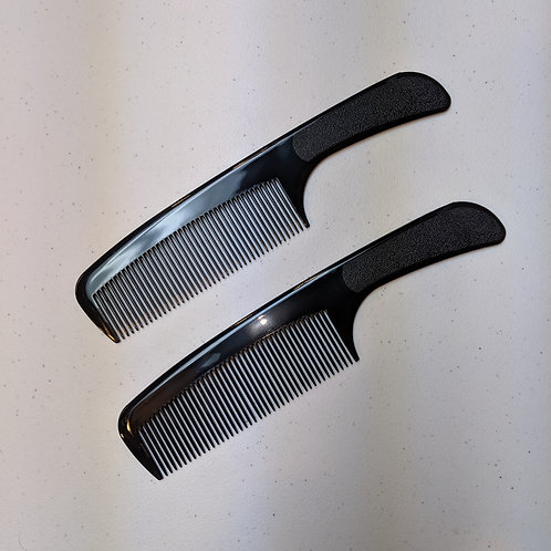 Handle Clipper Comb 2-pack