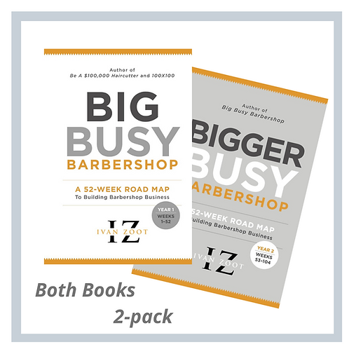 Big Busy Combo - The Books