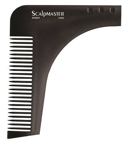 Beard styling and shaping tool