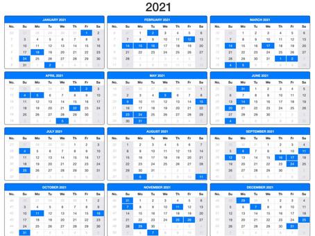 Plan Ahead 2021