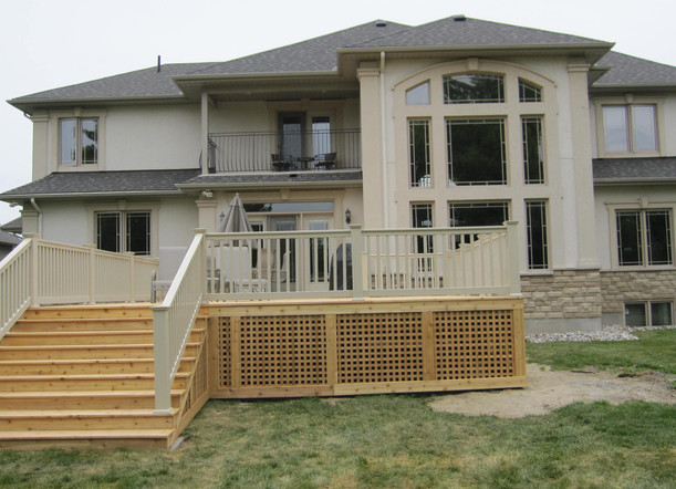 Deck completion