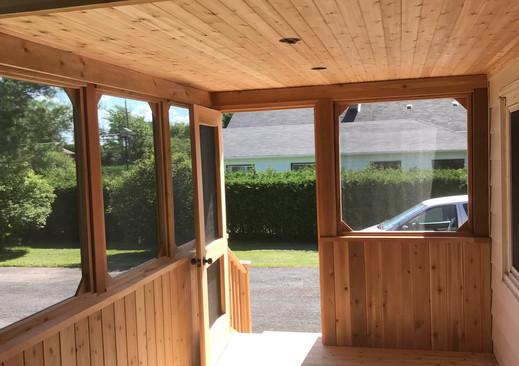 Carlsbad porch interior