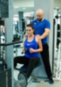 Персональная тренировка в фитнес-центре Медлайф