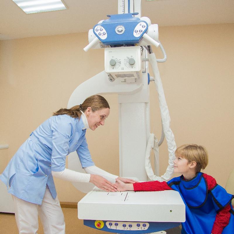 """На рентгене в клинике """"Правила жизни"""""""
