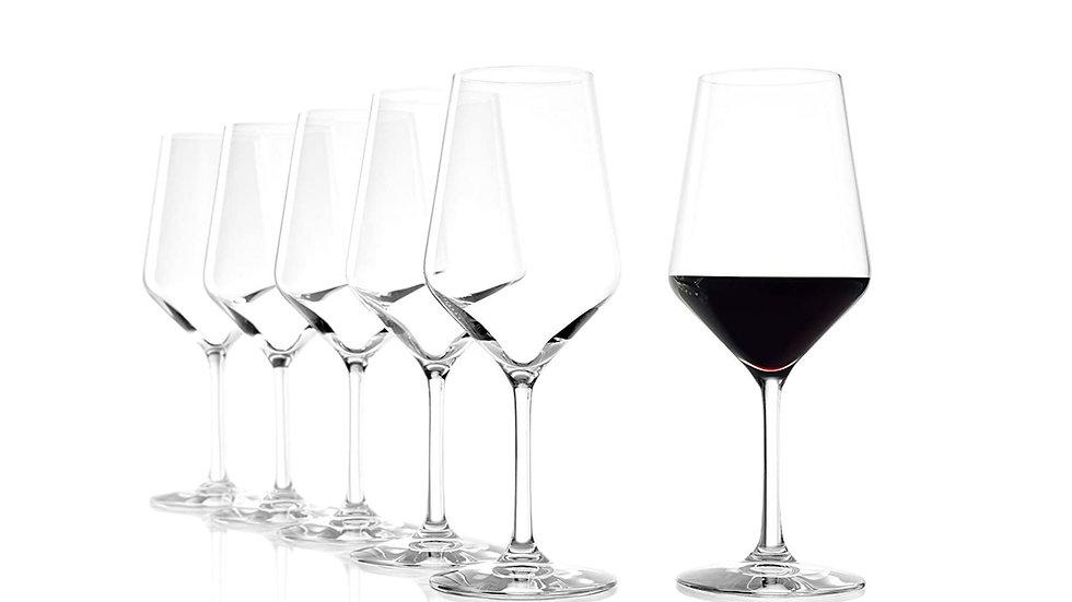 6 pcs REVOLUTION 377 00 01 Vino rosso