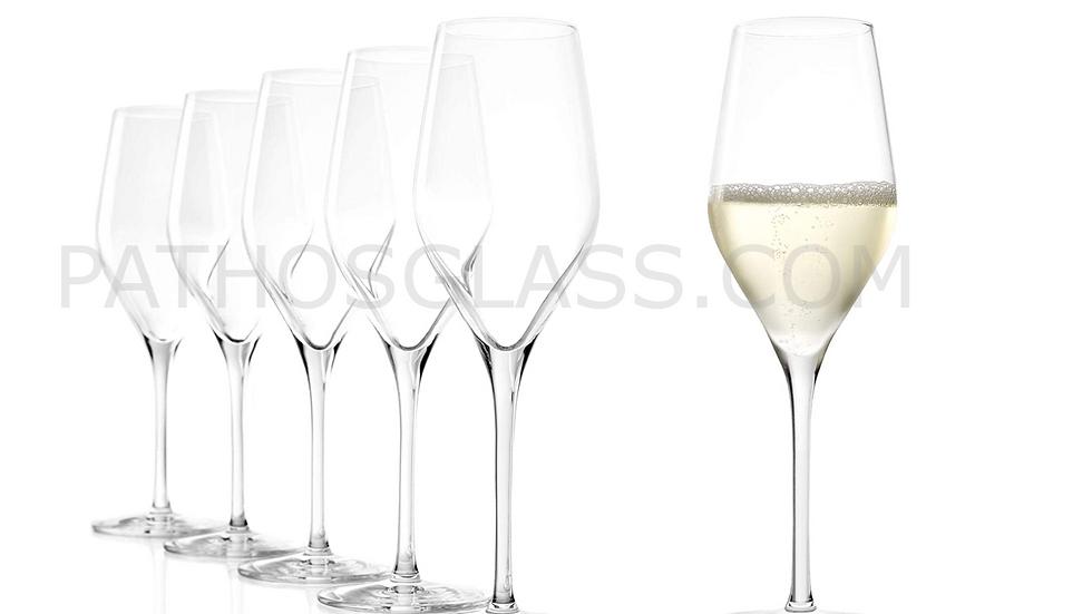 6 pcs EXQUISIT 147 00 29 Flute Champagne e Sparkling