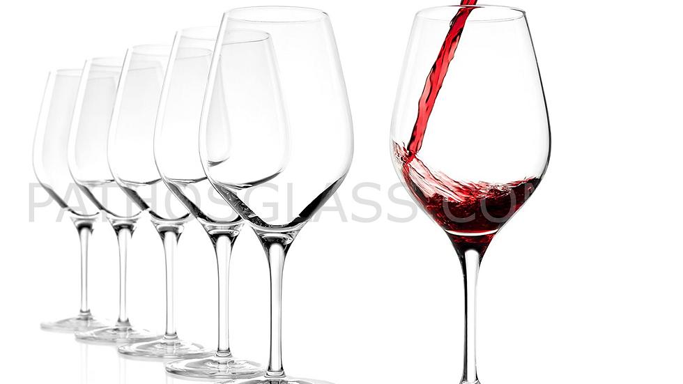 6 MODELLO 6 pcs EXQUISIT 147 00 35  Bordeaux