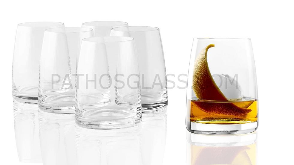 6 pcs TUMBLER 351 00 16 Whisky D.O.F.