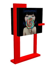 Cabinet bar collaboration artistique Fred Hernandez & Ahn Sun Mi