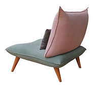 Fauteuil Z'in Confort tissus Kvadrat by Fred H Design