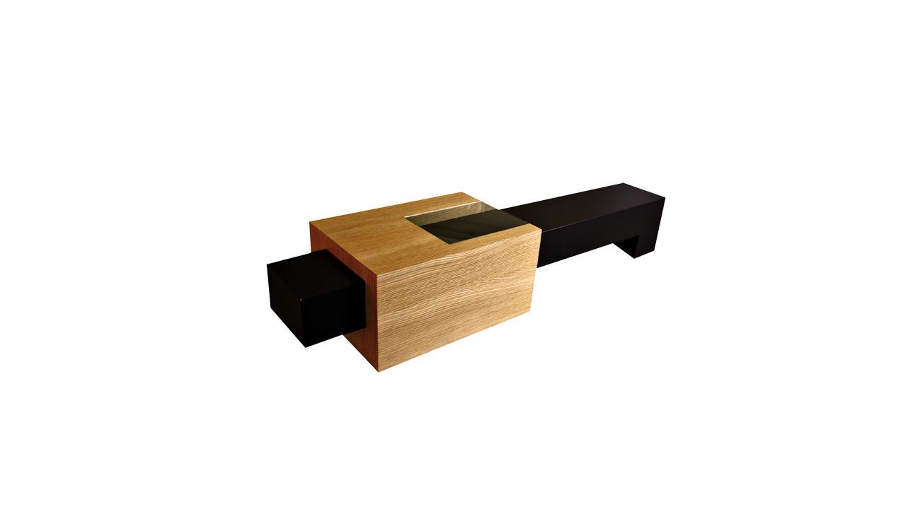 Table Piston Originale Fred H design