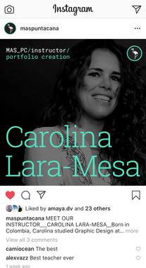 Carolina Lara-Mesa MAS instagram .png