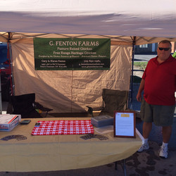 Farmers Market Setup