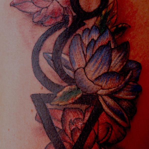 Lotus flower design