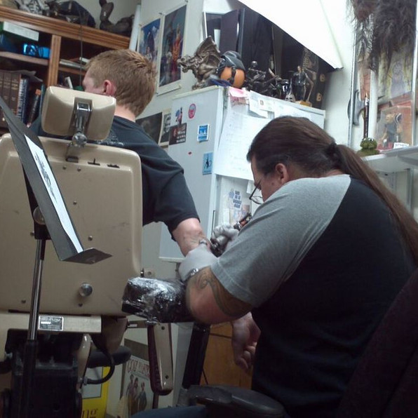 Ty tattooing