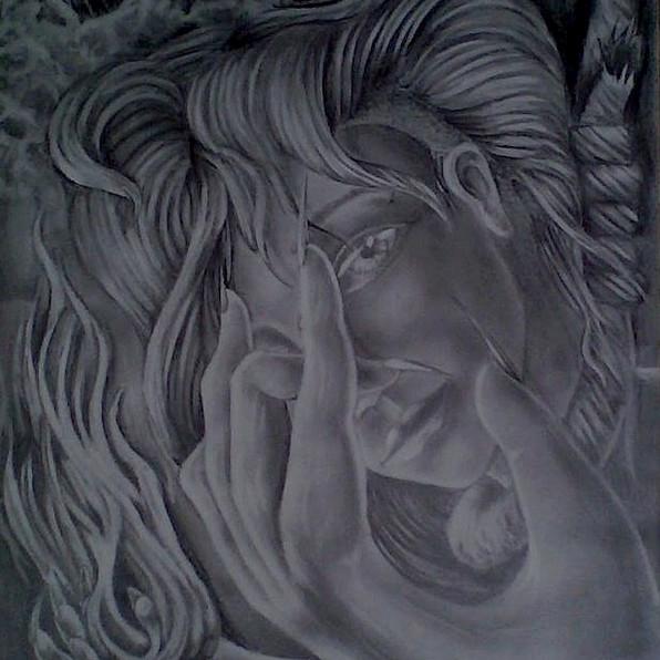 Lady Illustration