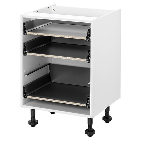 Drawer Gloss Handleless Kitchen Units (Doors Included)