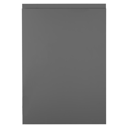 Slate grey handleless