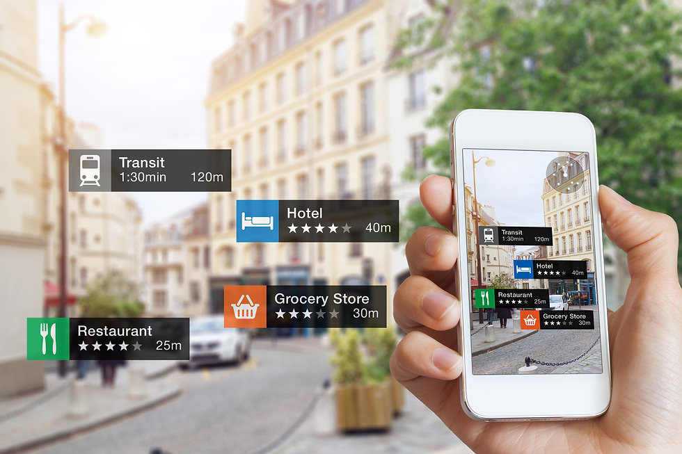 Augmented Reality (AR) information techn