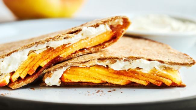 Apple Cinnamon Quesadillas