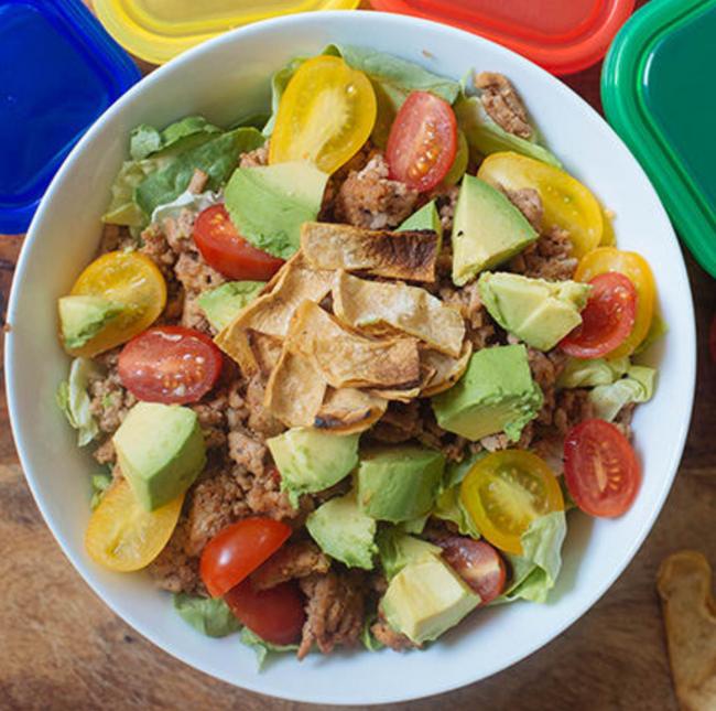 A little Taco Salad Recipe