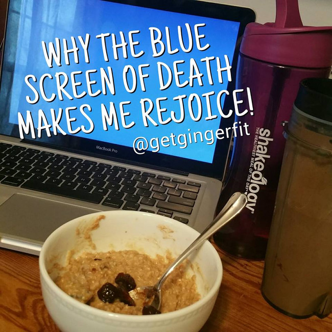 Why The Blue Screen Of Death Makes Me Rejoice!