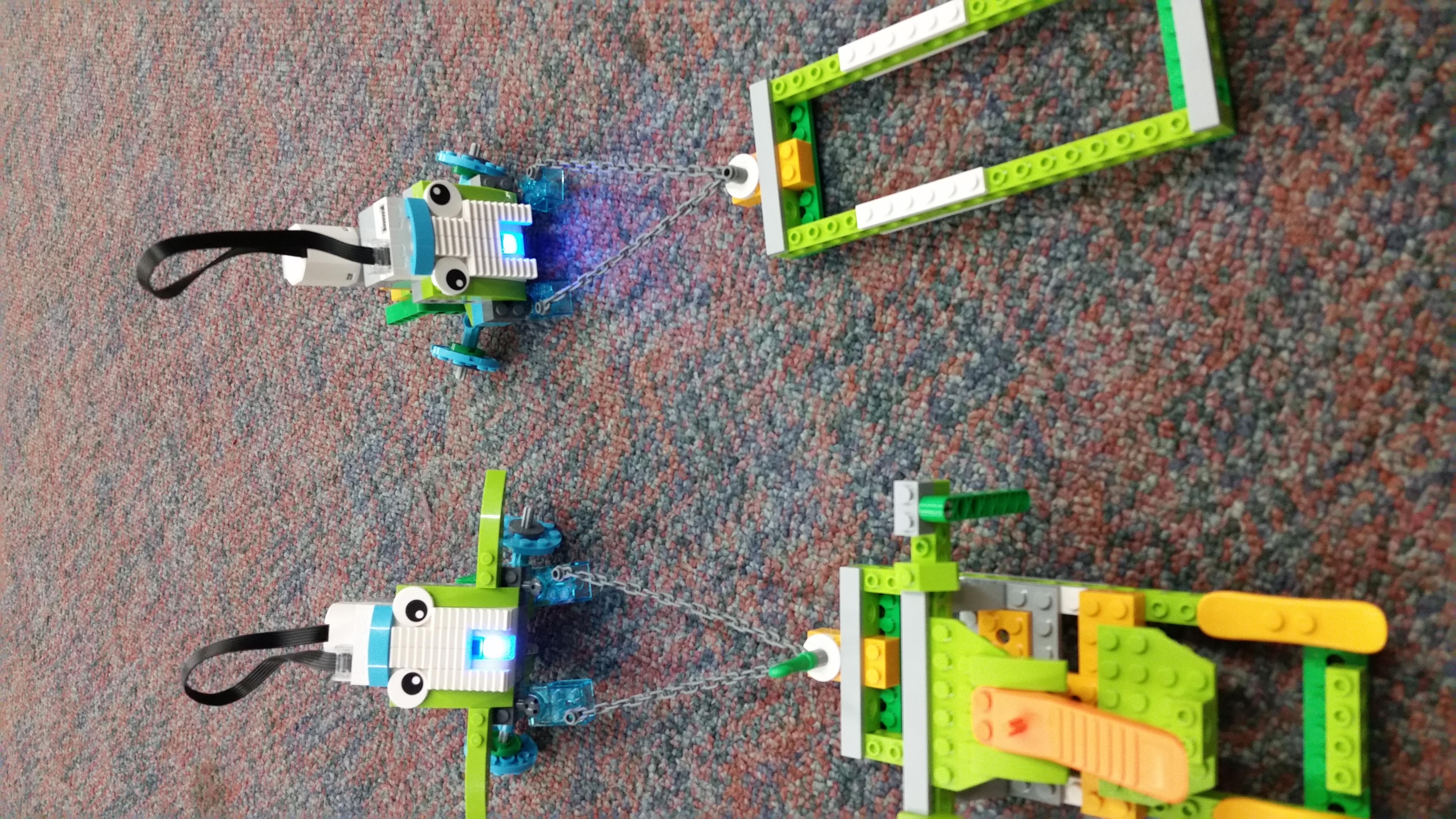 Lego Pull Bot