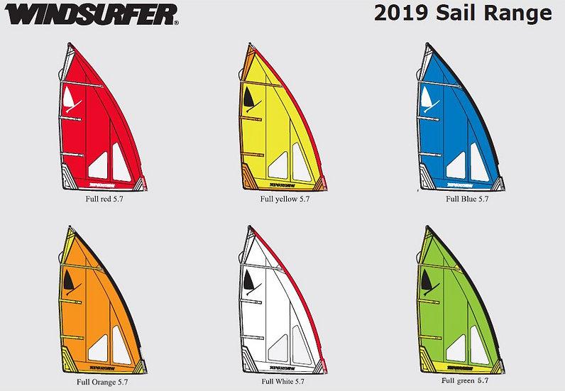 Windsurfer LTD 5.7 Sail
