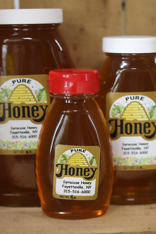 Raw Honey, 1/2 lb