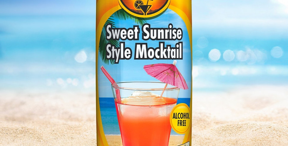 DR012. Sweet Sunrise Mocktail Drink (Non-Alcoholic)