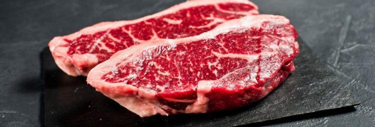 BE021. Grain Fed Striploin Steak (Product of Mexico) 墨西哥榖飼牛西冷扒