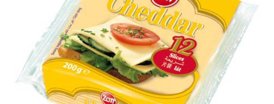 DA019. Zott Cheddar Cheese Slices 200g