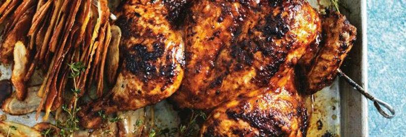 MC010. Marinated 4 Way Chicken (Peri Peri) 英國全雞一開四塊 (酸辣味)- 已醃