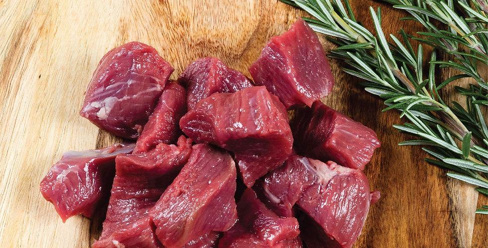 LA009. Fresh Frozen Prime Lamb Leg Cubes Boneless 澳洲急凍優質草飼無骨羊髀卷肉丁