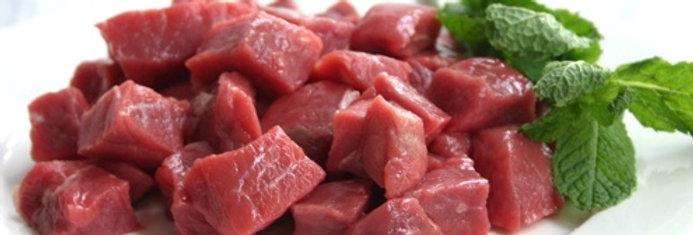 GO007F. Fresh Chilled Goat Meat Cubes Boneless 南非新鮮山羊肉丁