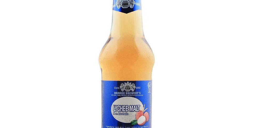 DR006. Lychee Flavour Sparkling Malt Drink (Non-Alcoholic) 健康有氣麥汁(荔枝味)