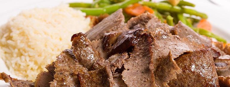 DK007. Gourmet Lamb Doner Kebab (Cooked) 英國頂級羊肉烤肉片(熟)
