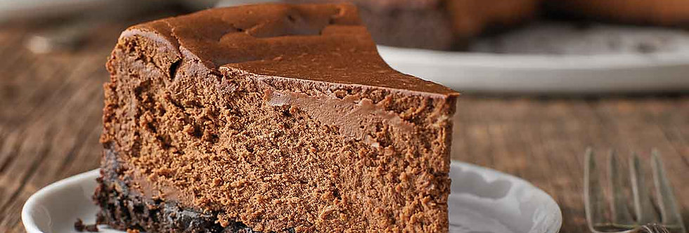 CA017. Baked Chocolate Cheese Cake (12 Slices) 焗芝士蛋糕 (朱古力味)