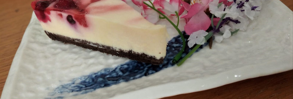 CA022. FOUR Kinds of Berries Non-baked Cheese Cake (4 pcs) 日本四莓生芝士蛋糕 (4 件)