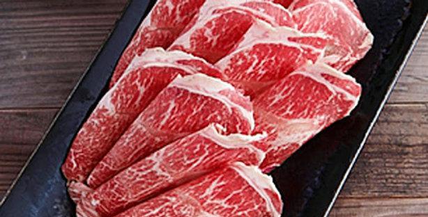 ABE002. Fresh Frozen Certified Angus Slices 美國急凍認證安格斯牛肉片 (薄切 可BBQ/ 火鍋) 200g/Pack