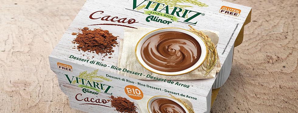 DSS001. Vitariz Organic Rice Dessert Cacoa Flavour