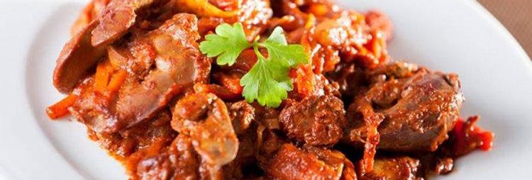 MC. Chicken Liver in Peri Peri Sauce 南非酸辣雞肝