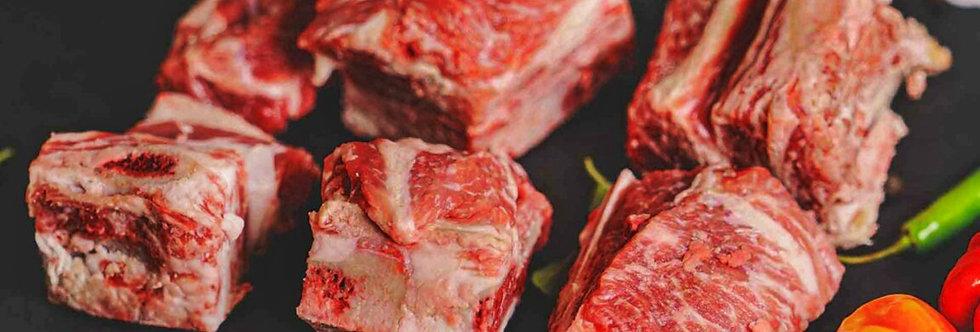 DE003. Fresh Frozen Deer Front Leg Meat Bone-in 澳洲急凍鹿肉 (前腿有骨)