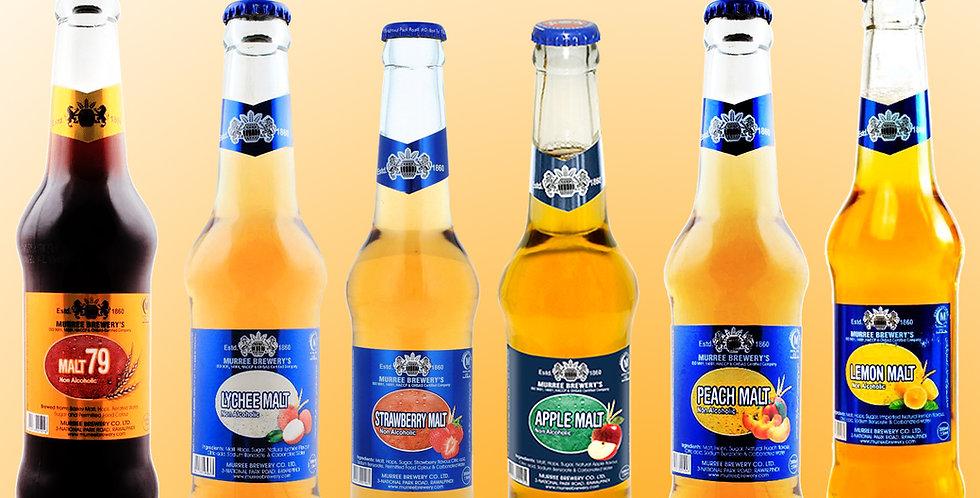 DRMIX. Mix & Match any 3 Flavors Sparkling Malt Drink (Non-Alcoholic) 6 bottles